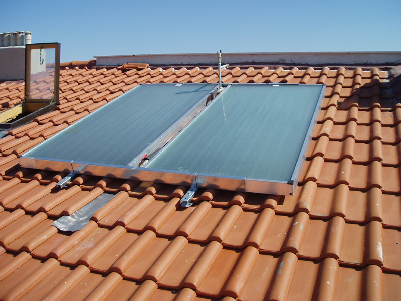 B&T Solar Water Heater
